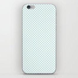Soothing Sea Polka Dots iPhone Skin