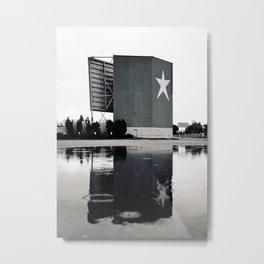 Star-Lite reflection Metal Print