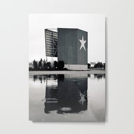 Star-Lite reflection Metal Print