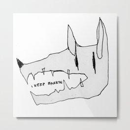 BARKIN Metal Print
