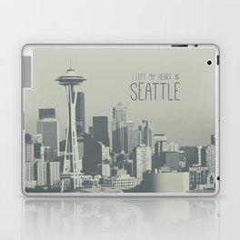 I LEFT MY HEART IN SEATTLE Laptop & iPad Skin