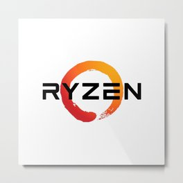 Ryzen Metal Print