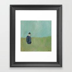 Overdressed. Framed Art Print