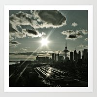 toronto Art Prints featuring Toronto by MSG Imaging