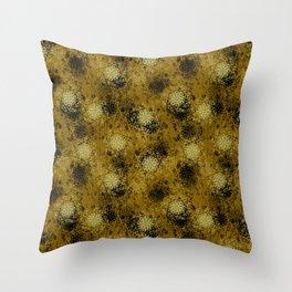 Celestine (Yellow) Throw Pillow