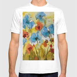 Flowers (watercolor) T-shirt