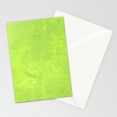 Abstract green paper Stationery Cards