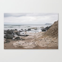 White Rocks of Portrush Ireland Canvas Print