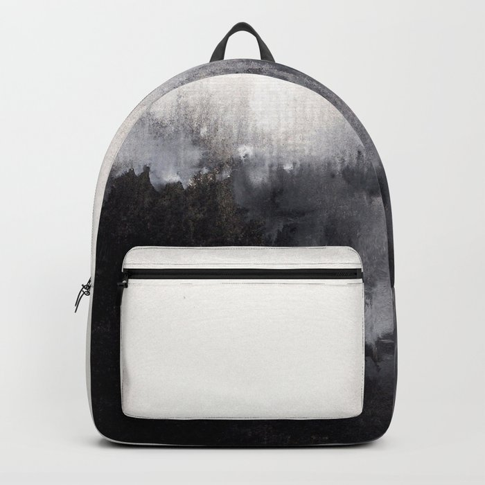 Watercolor abstract landscape 16 Backpack