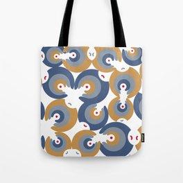 Mano Semilla/Hand Seed--Blue Tote Bag