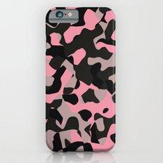 Pink Kitty Camo Slim Case iPhone 6s