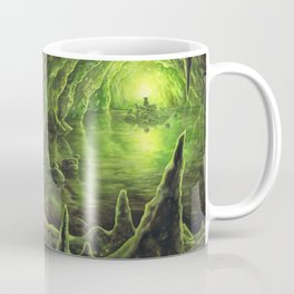 Harry and Dumbledore in the Horcrux Cave Coffee Mug