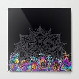 Catalyst Ranch Tribe Metal Print