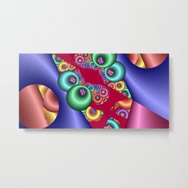time for fractals -4- Metal Print