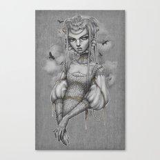 Raven Canvas Print