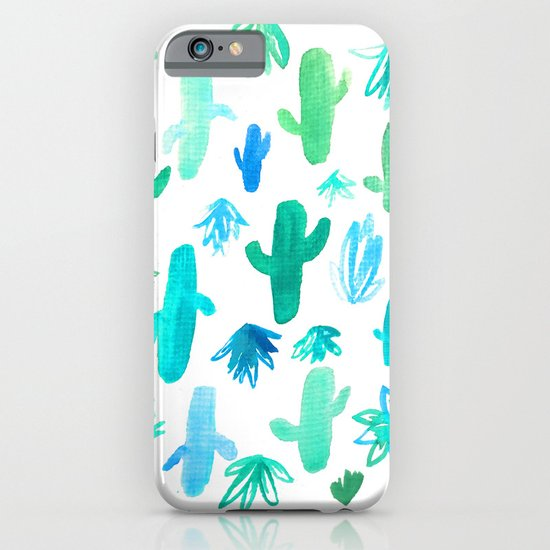 Live Simply Cactus iPhone & iPod Case