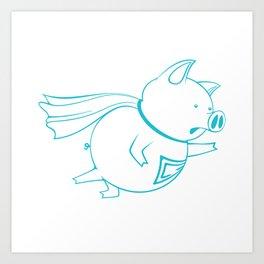piggy 07 Art Print