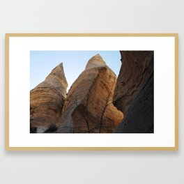 Tent Rocks NM Framed Art Print