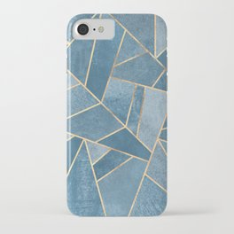 Dusk Blue Stone iPhone Case