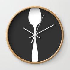 Big Spoon Wall Clock