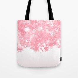 paint splatter on gradient pattern bbpw Tote Bag