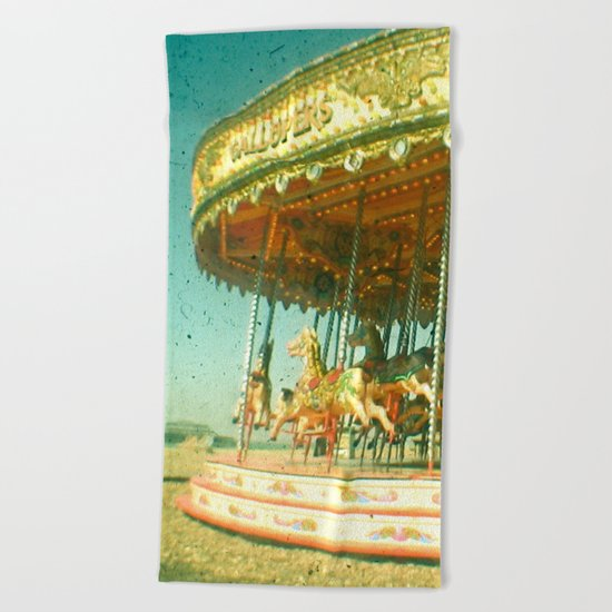 Carousel Beach Towel