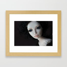 Once Upon A Doll Framed Art Print