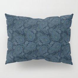 Meredith Paisley - Navy Pillow Sham