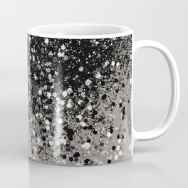 Silver Gray Glitter #1 #shiny #decor #art #society6 Coffee Mug