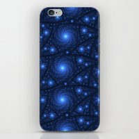 starry night iPhone & iPod Skins featuring Starry Starry Night by Lyle Hatch