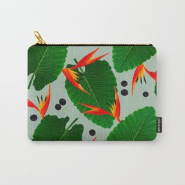 Costa Rican Print Carry-All Pouch