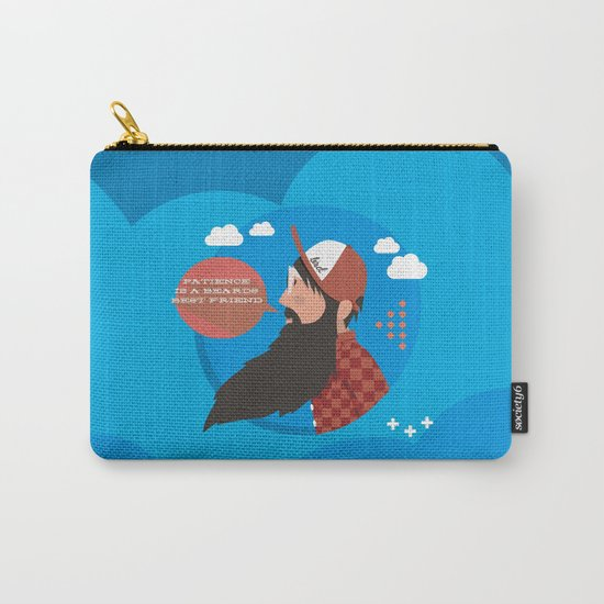 Patience is a beards best friend Carry-All Pouch