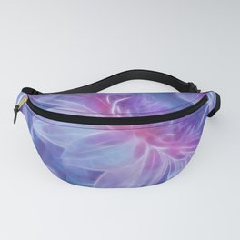 Abstract Dahlia fractal Fanny Pack