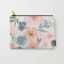 Blushing Bloom Carry-All Pouch