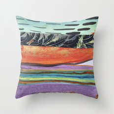 Tropicana Electric Throw Pillow