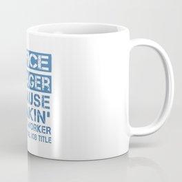 OFFICE MANAGER Coffee Mug