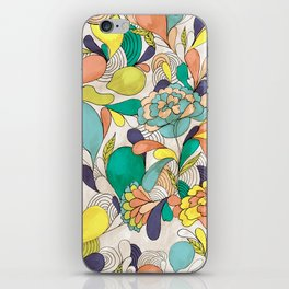 Balloons in bloom iPhone Skin