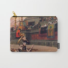 Jean-Leon Gerome's Pollice Verso Carry-All Pouch