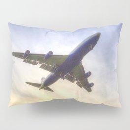 Boeing 747 Sunset  Pillow Sham