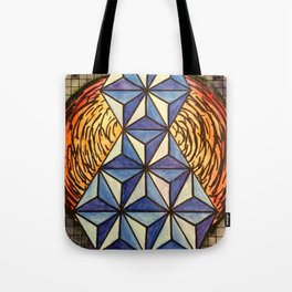 Geo Space Tote Bag