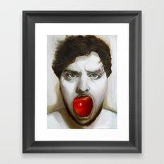 The Caterpillar/Adam's Apple Framed Art Print
