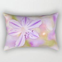 Summer dance - macro  floral photography Rectangular Pillow