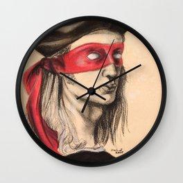 Raph TMNT Wall Clock