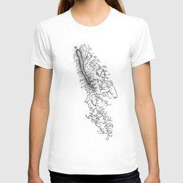 Owasco Lake Home T-shirt