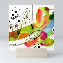 Abstract Serenade 4a by Kathy Morton Stanion Mini Art Print