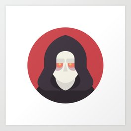 Darth Sidious Art Print