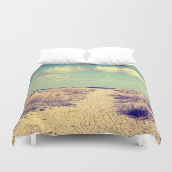 Beach Impression Duvet Cover