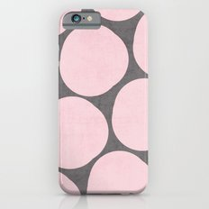 pink pebbles iPhone 6s Slim Case