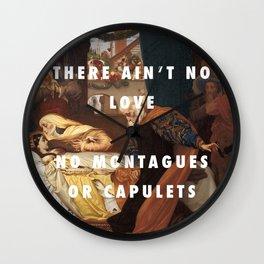 Juliet on the Dancefloor Wall Clock