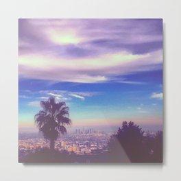 Pastel L.A. Metal Print